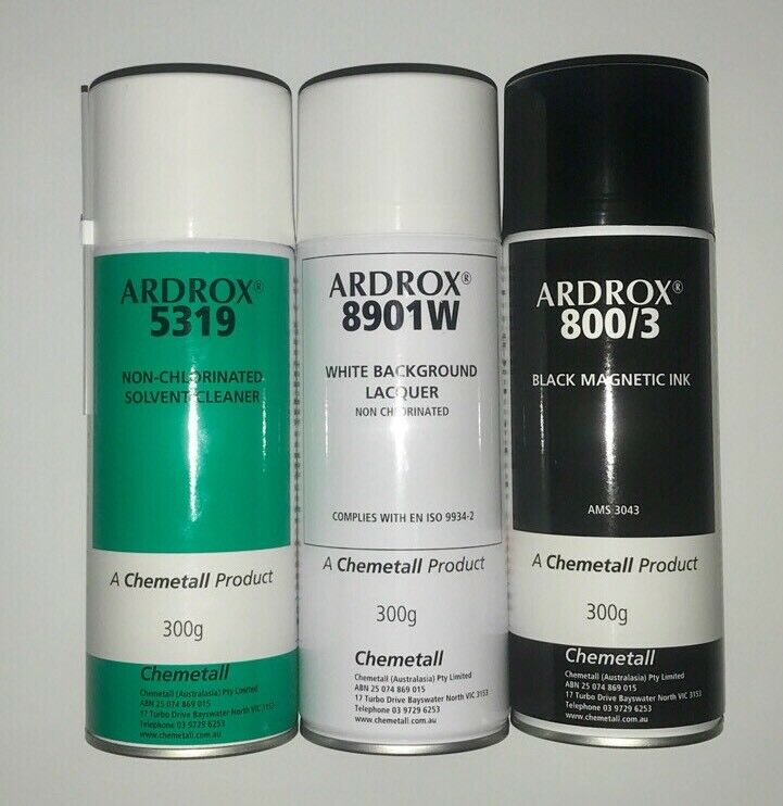 1 Set Of Three, Ardrox Tins